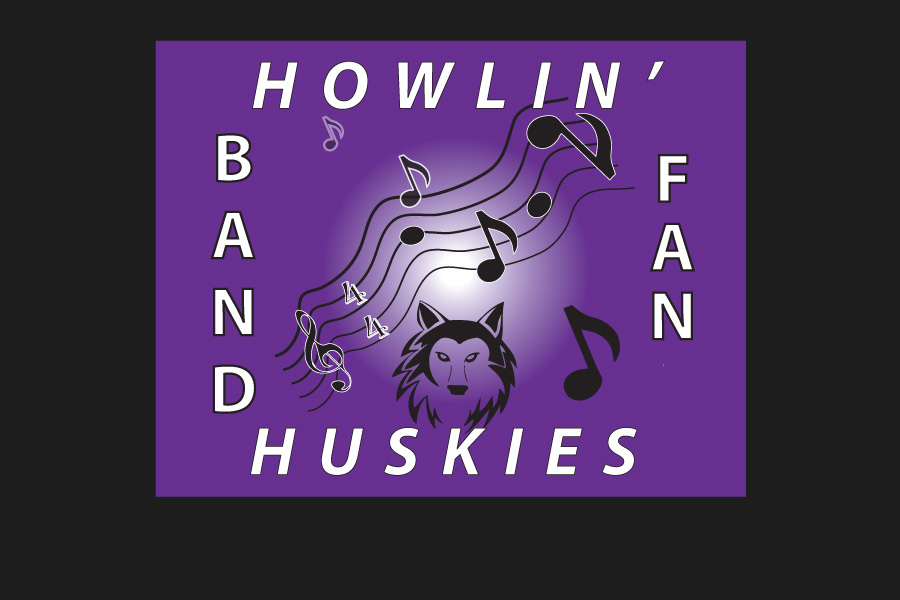 BVNW Band Booster Club sign