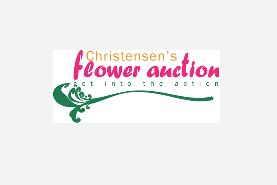 Christensen's Flower Auction Logo