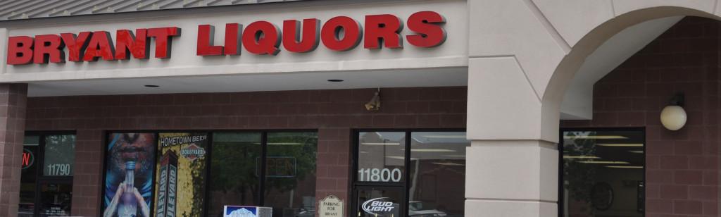 Bryant Liquors Sign