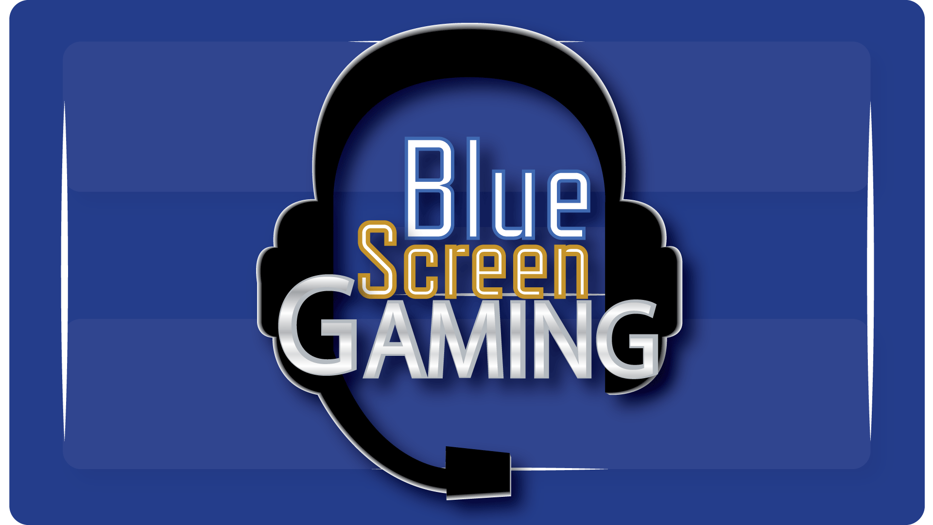 Blue Screen Gaming Logo