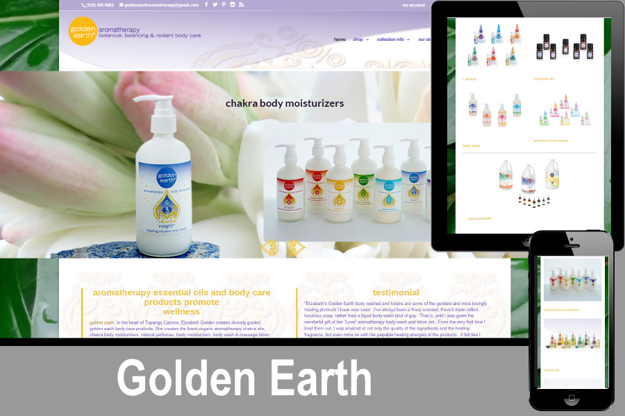Golden earth website